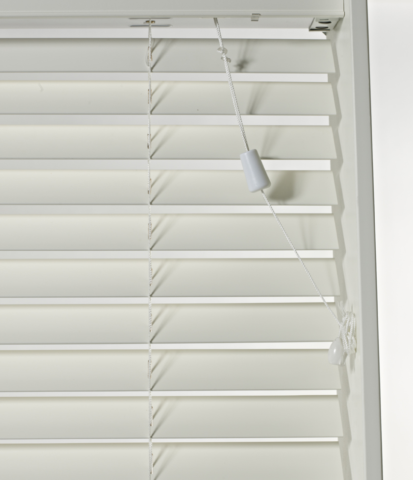 SLX Wood Blind - 50mm Pearl Blind with Safety Cleat<div style='clear:both;width:100%;height:0px;'></div><span class='cat'>Venetian Blinds, Blinds</span>