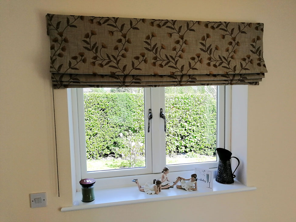 Roman blind in Sanderson Everly<div style='clear:both;width:100%;height:0px;'></div><span class='cat'>Previous Projects, Blinds, Roman Blinds</span>