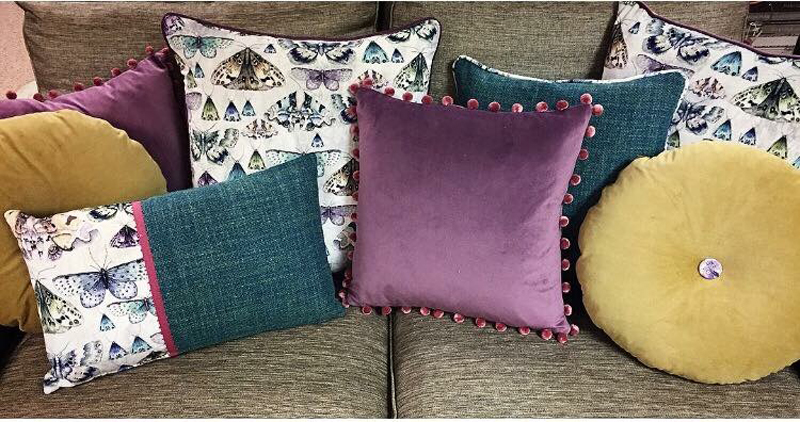Designers Guild fabric Cushions <div style='clear:both;width:100%;height:0px;'></div><span class='cat'>Previous Projects, Designers Guild</span>