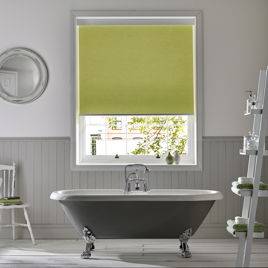 Roller Blind DQ Atlantex Lime Bathroom Roller<div style='clear:both;width:100%;height:0px;'></div><span class='cat'>Blinds, Roller & Pleated</span>