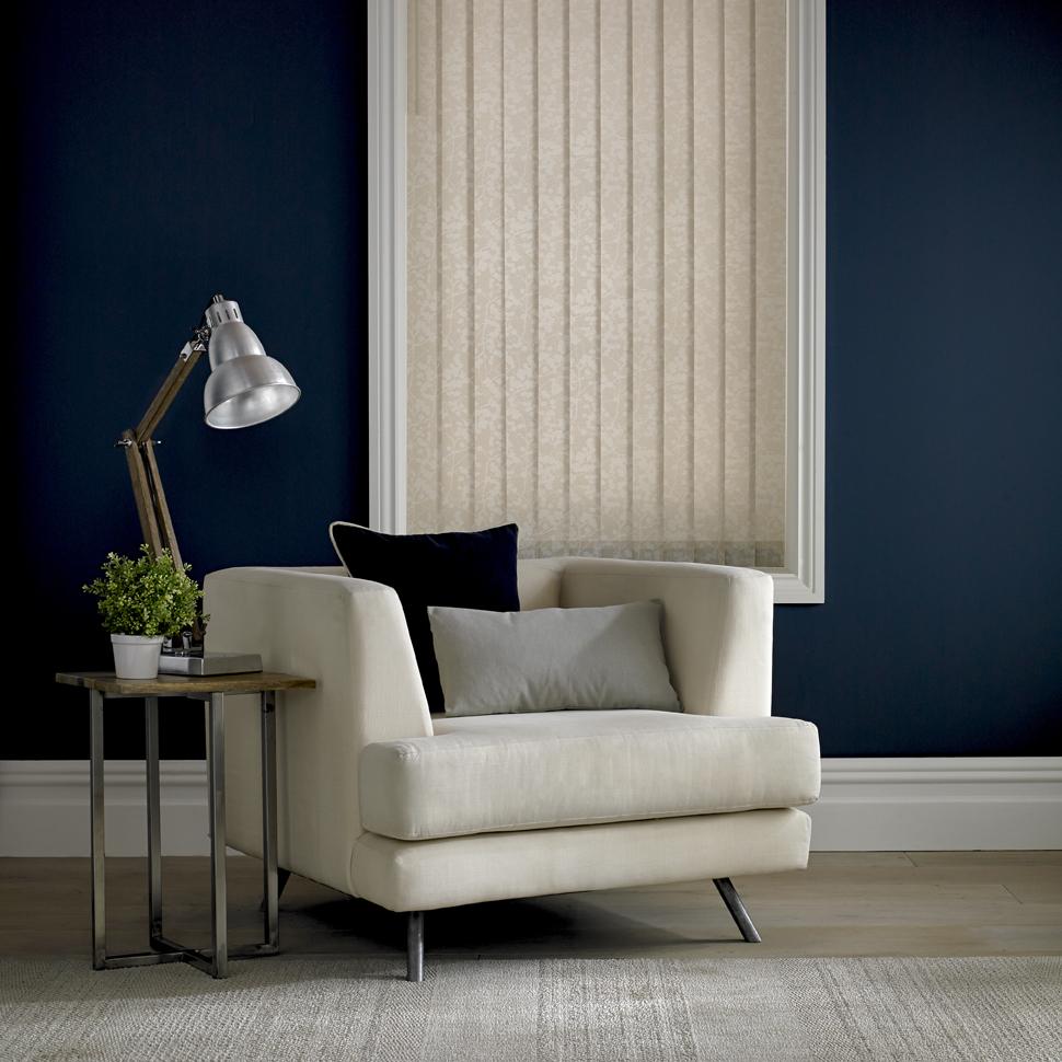 Vertical DQ Japonica asc Hessian Sitting Area <div style='clear:both;width:100%;height:0px;'></div><span class='cat'>Vertical Blinds, Blinds</span>