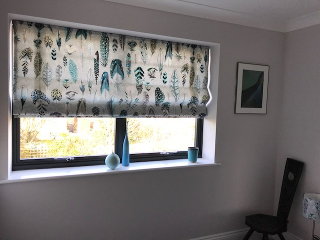 Roman Blind in Designers Guild fabric<div style='clear:both;width:100%;height:0px;'></div><span class='cat'>Previous Projects, Roman Blinds, Blinds</span>