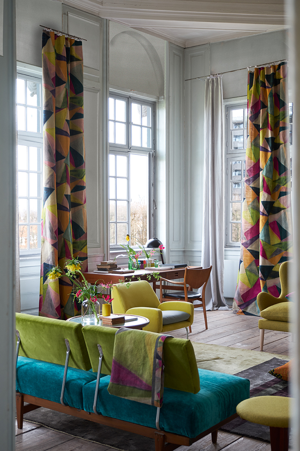 Designers Guild,  Jaipur Rose -  Shikhara curtains <div style='clear:both;width:100%;height:0px;'></div><span class='cat'>Designers Guild</span>