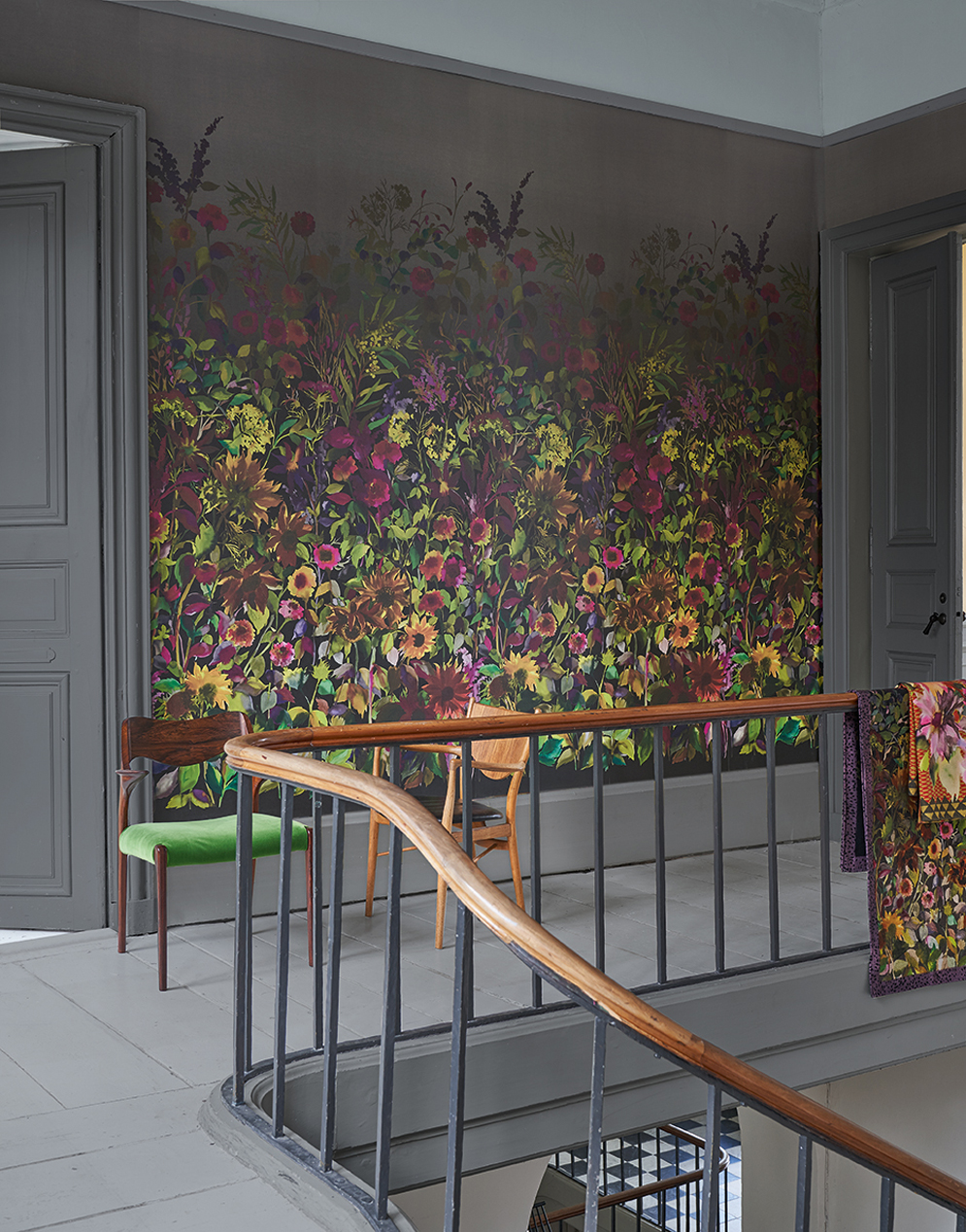 Designers Guild, Zardozi - Indian Sunflower wallpaper<div style='clear:both;width:100%;height:0px;'></div><span class='cat'>Designers Guild</span>