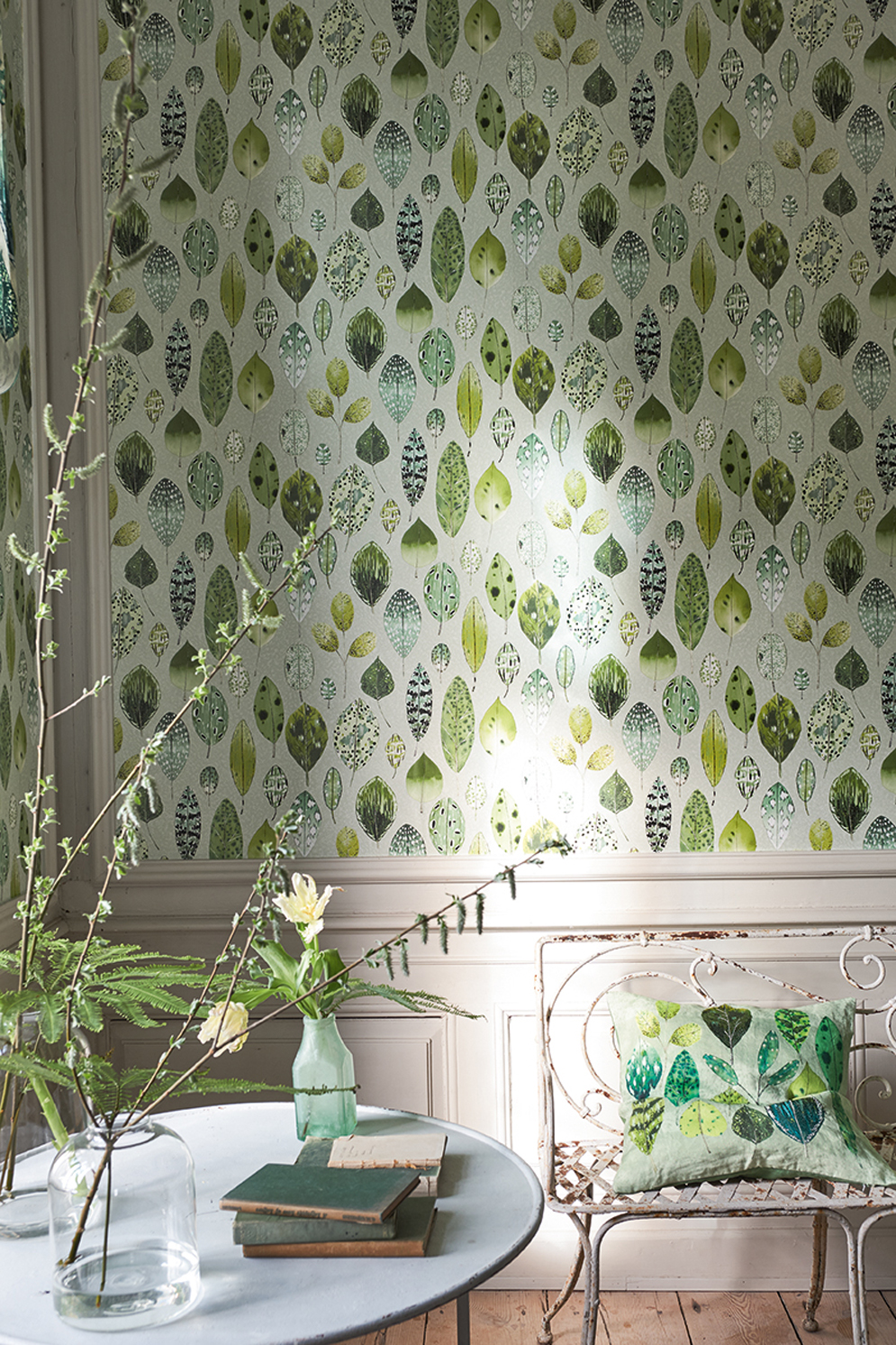 Designers Guild, Zardozi - Tulsi wallpaper<div style='clear:both;width:100%;height:0px;'></div><span class='cat'>Designers Guild</span>